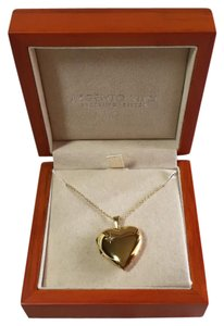 Argento Vivo Gold-plated Sterling Silver Locket