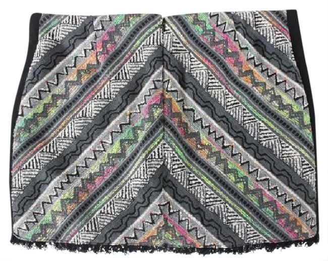 Urban Outfitters Staring At Stars Size Medium Mini Skirt Multi Image 0