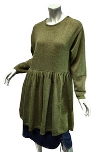 Other short dress Olive Green Lagenlook Knit Baby Doll Layering Co & Eddy on Tradesy