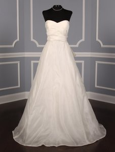Monique Lhuillier Ribbon Wedding Dress