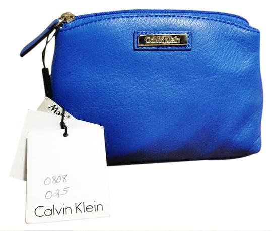 Preload https://img-static.tradesy.com/item/20854120/calvin-klein-blue-leather-cosmetic-bag-0-1-540-540.jpg