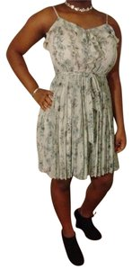 LC Lauren Conrad short dress Skirts Pleated Floral Party on Tradesy