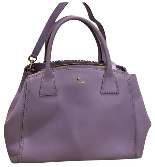 Preload https://img-static.tradesy.com/item/20854179/kate-spade-lavender-satchel-0-1-540-540.jpg