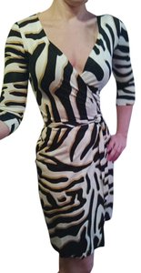 Diane von Furstenberg Dvf Wrap Silk Dress