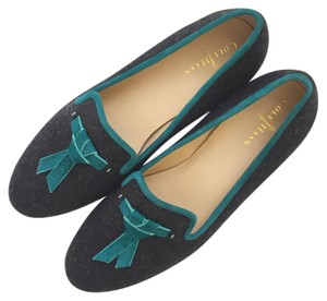 Cole Haan Charcoal Teal Flats