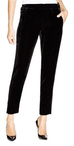 Theory Velevet Winter Trousers Skinny Pants Black