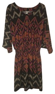 Emma & Michele short dress Multi Tribal on Tradesy