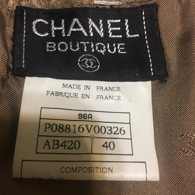 Chanel Skirt Gold or Bronze Image 1