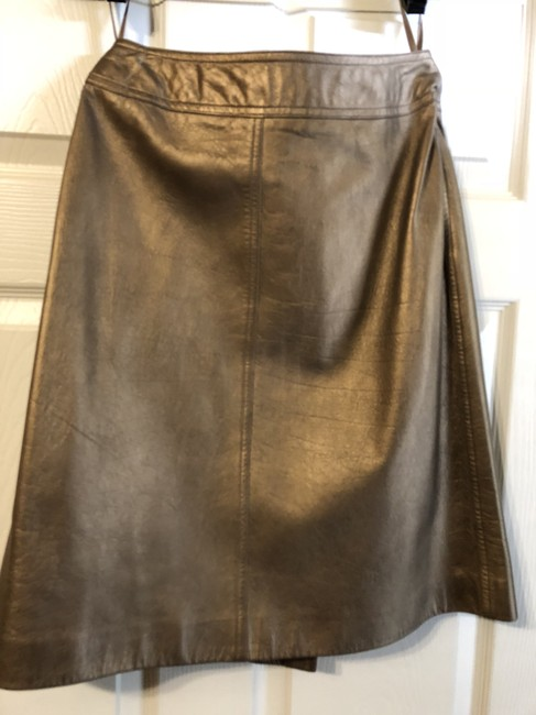 Chanel Skirt Gold or Bronze Image 3