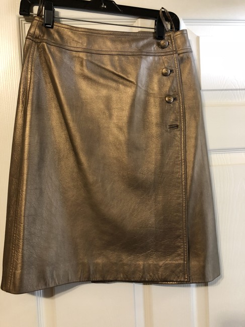 Chanel Skirt Gold or Bronze Image 4