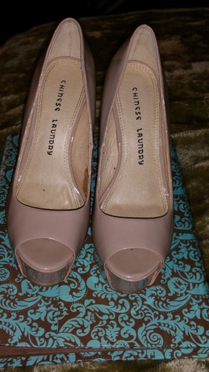 Chinese Laundry Nude,tan Pumps Image 1
