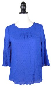 Maeve Anthropologie Top blue