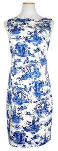 Chetta B. by Sherrie Bloom and Peter Noviello Shift Cotton Sleeveless Spring Dress