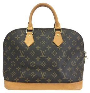 Louis Vuitton Lv Alma Pm Monogram Canvas Tote in brown