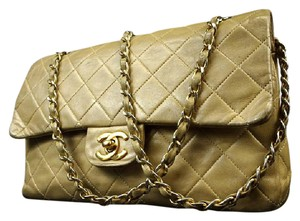 Chanel Classic Flap Flap Quilted Classic Flap Tan Flap Brown Flap Shoulder Bag
