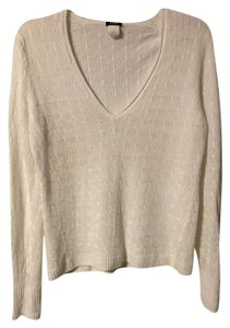 J.Crew Cable Knit Linen Sweater