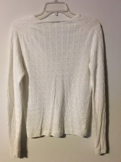 J.Crew Cable Knit Linen Sweater Image 1