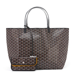 Goyard St Louis St Louis Gm St Louis Gm Gm Tote in Black