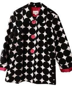 3 Sisters Black White Hot Pink Jacket