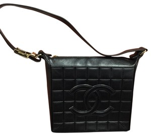 Chanel Camera Nwts! Lambskin Nwts Case Blk Lamb Shoulder Bag