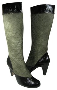 Taryn Rose moss green/ black Boots