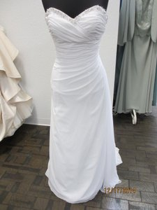 Private Collection Wedding Dress Style - 18771-size 12- White (136l) Wedding Dress