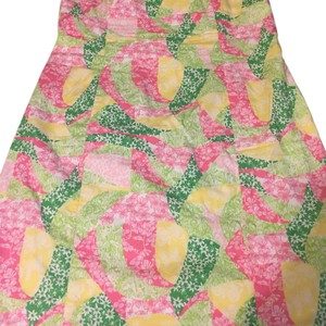 Lilly Pulitzer short dress Green Yellow Pink on Tradesy