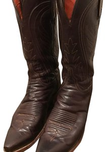 Lucchese Chocolate Brown Boots