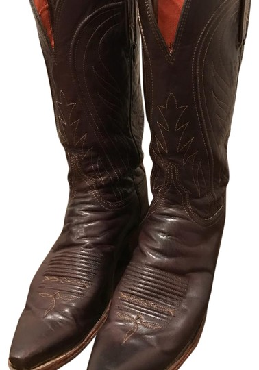 Preload https://img-static.tradesy.com/item/20855334/lucchese-chocolate-brown-n4658-ranch-from-the-1883-collection-bootsbooties-size-us-85-regular-m-b-0-1-540-540.jpg