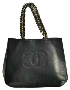 Chanel Vintage Tote in Black