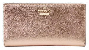 Kate Spade New Kate Spade Cameron Street Stacy Wallet Rose Gold