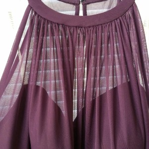 David's Bridal Plum Never Worn Bridesmaids Dress Dress