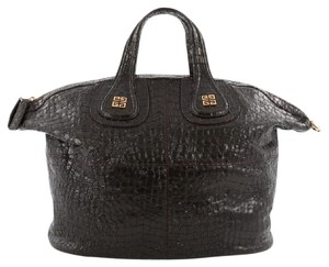 Givenchy Crocodile Leather Satchel