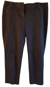 Ann Taylor LOFT Work Corporate Office Style Capri/Cropped Pants Navy
