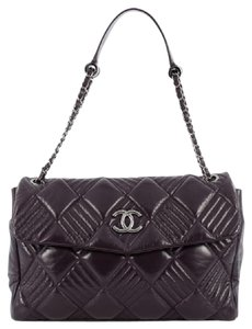 Chanel In And Out Lambskin Shoulder Bag
