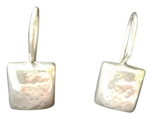 Silpada Silpada Hammered Square Earrings