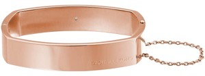 Michael Kors MKJ4658 Michael Kors Square Hinge Bangle Bracelet Rose Gold Tone