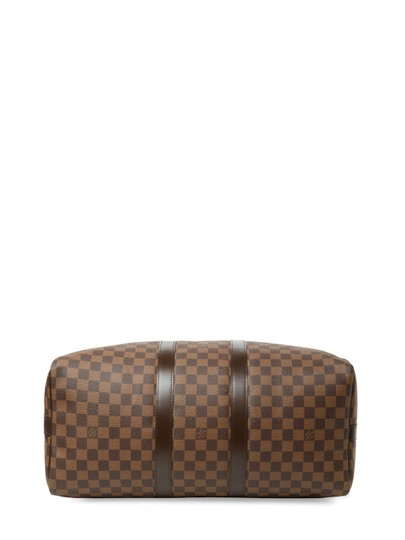 Louis Vuitton Vintage Designer Tote Brown Travel Bag Image 2