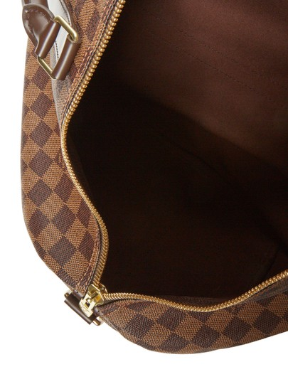 Louis Vuitton Vintage Designer Tote Brown Travel Bag Image 4