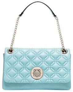 Kate Spade Astor Court Cynthia Quilted Gold Hardware Shoulder Bag