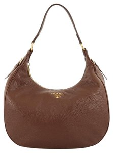 Prada Leather Hobo Bag