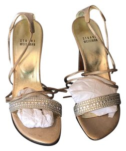 Stuart Weitzman hold and crystal Formal
