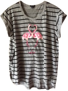 I 'Heart' Ronson Flamingos Weekend Cotton Summer Festival T Shirt