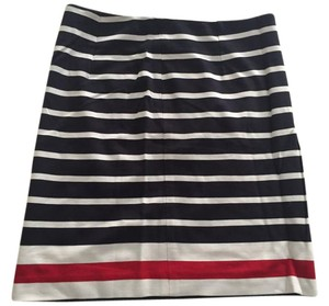 Banana Republic Skirt Blue red white multi