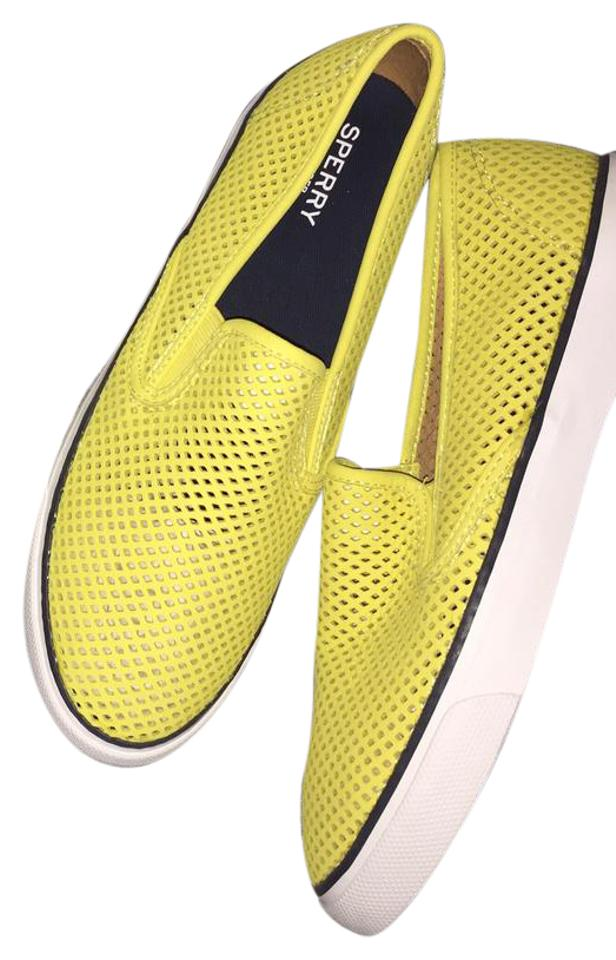 LADY Sperry Big Yellow Bright Lights Sneakers Big Sperry sale ea50c5