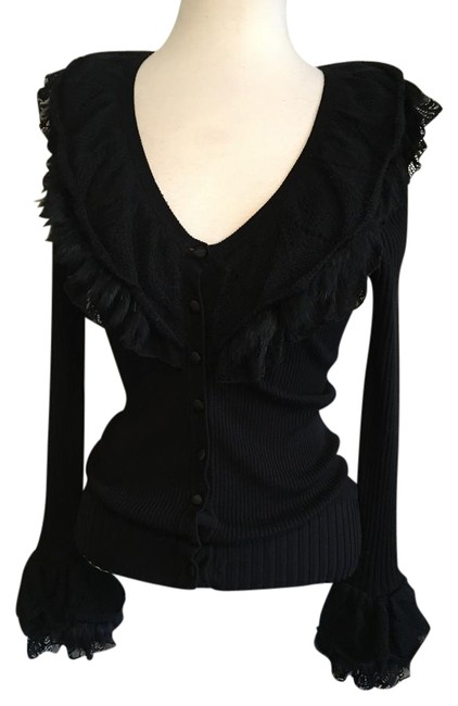 Preload https://img-static.tradesy.com/item/20855950/dolce-cabo-black-3-layered-collar-and-cuffs-buttoned-front-ribbed-knit-cardigan-size-8-m-0-1-650-650.jpg