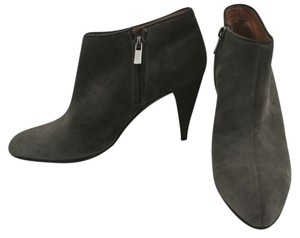 Sigerson Morrison Suede Ankle High Heel taupe Boots