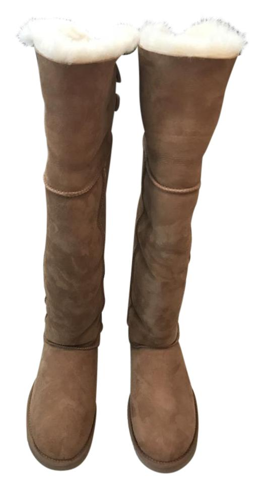 a0de336ffdb UGG Australia Chestnut Bailey Button Over The Knee Boots/Booties Size US 10  Regular (M, B) 50% off retail