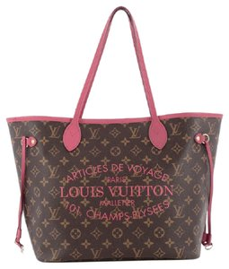 Louis Vuitton Neverfull Limited Edition Canvas Tote