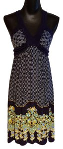 Deletta short dress Anthropologie Lined Tie Back on Tradesy